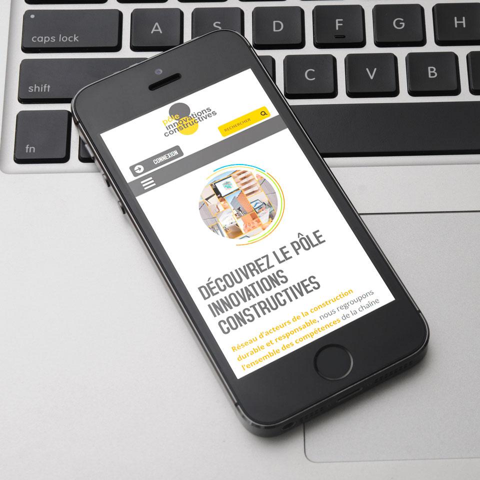 Site mobile PIC - Cluster entreprises de construction