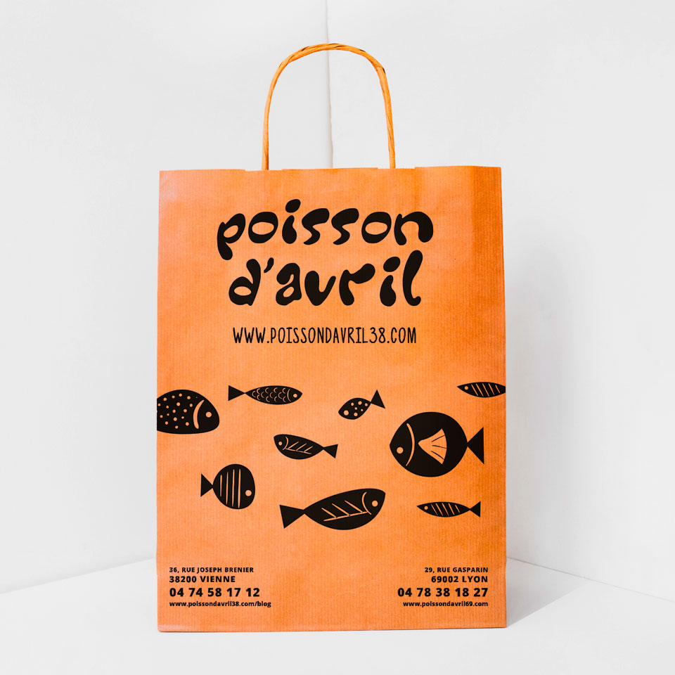 Poisson d'Avril - Sac de vente